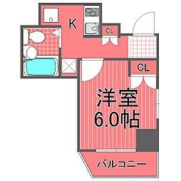 レジディア横濱関内[7階]の間取り