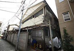 東京都新宿区舟町の賃貸アパートの外観