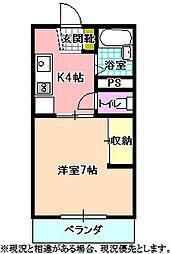 コーポミズノ[2階]の間取り