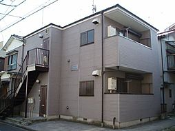 神奈川県川崎市幸区戸手本町1丁目の賃貸アパートの外観
