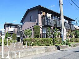 埼玉県さいたま市南区白幡4丁目の賃貸アパートの外観