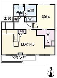 エル ブルック[2階]の間取り