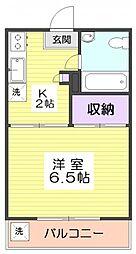 10547[5階]の間取り