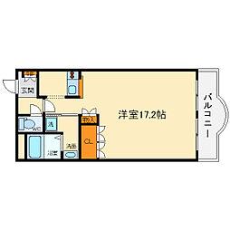 大阪府茨木市彩都あさぎ5丁目の賃貸マンションの間取り