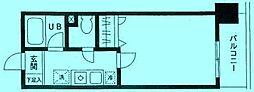 フォンテーヌ21[2階]の間取り