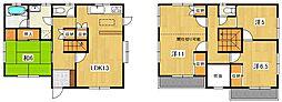 [一戸建] 茨城県日立市諏訪町6丁目 の賃貸【/】の間取り