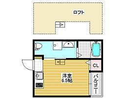 ソレイユ堺[1階]の間取り
