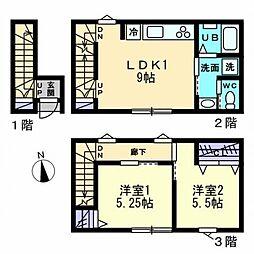 [一戸建] 香川県高松市西の丸町 の賃貸【/】の間取り