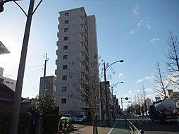 愛媛県松山市平和通4丁目の賃貸マンションの外観
