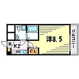 セレニテ甲子園2[2階]の間取り