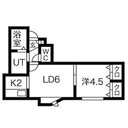 発寒南駅 4.2万円