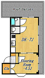 シェルハウス[4階]の間取り