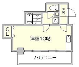 シティライフ博多駅南[7階]の間取り