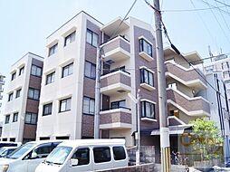 万代東マンション[4階]の外観
