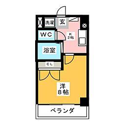 ヤマトマンション大須I[2階]の間取り