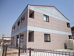 山口県下関市羽山町の賃貸アパートの外観