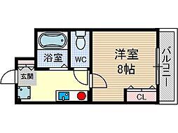 双葉6番館[2階]の間取り