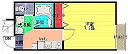 ラプリマベーラ霞ヶ関II[1階]の間取り