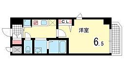 グランカリテ神戸WEST[204D号室]の間取り