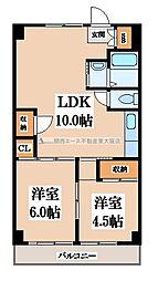 第三寺尾マンション[3階]の間取り