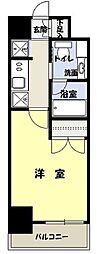 レジディア月島3[503号室]の間取り