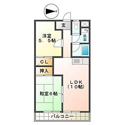 グレートマンション[1階]の間取り
