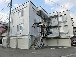 北海道札幌市白石区栄通18丁目の賃貸アパートの外観