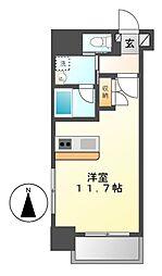 Plan Baim大須駅前[2階]の間取り