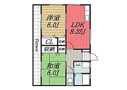 [一戸建] 千葉県成田市南平台 の賃貸【/】の間取り