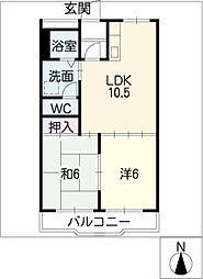 セピアハウス[2階]の間取り