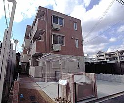 京都府京都市右京区西院東貝川町の賃貸アパートの外観