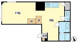 相生ビル(3階)[3階]の間取り