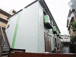 東京都足立区関原3の賃貸アパートの外観