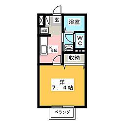 せじゅーる花筐[1階]の間取り
