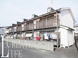埼玉県さいたま市南区鹿手袋6丁目の賃貸アパートの外観