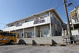千葉県市川市東大和田2丁目の賃貸アパートの外観