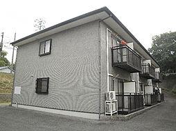 愛媛県松山市泉町の賃貸アパートの外観