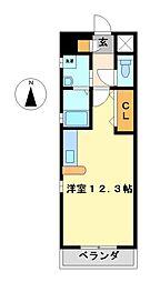 パンシオン千種[2階]の間取り