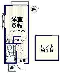 MENE11[1階]の間取り