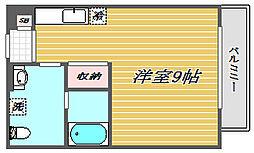 埼玉県川口市芝3丁目の賃貸アパートの間取り