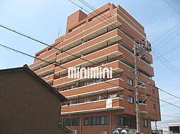 清水マンション[8階]の外観
