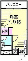 ビケンアーバンス[3階]の間取り
