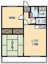 セゾン・エル[101号室]の間取り
