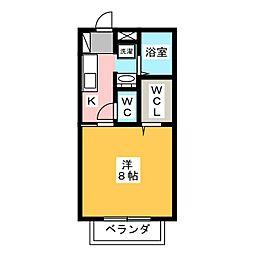 祖谷形の杜二番館[1階]の間取り