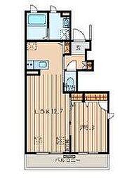 ユーカリベルグ[1階]の間取り