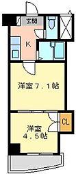 ロイヤルマキシム[8階]の間取り