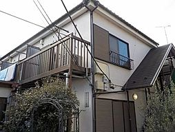 東京都練馬区北町2丁目の賃貸アパートの外観