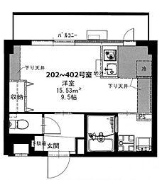 神奈川県相模原市南区上鶴間本町3丁目の賃貸アパートの間取り