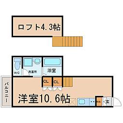 Cielo Vista[2階]の間取り