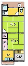 [一戸建] 大阪府寝屋川市萱島東2丁目 の賃貸【/】の間取り
